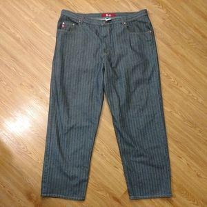 G.J. Guess Jeans Stripe Detail 42 x 34